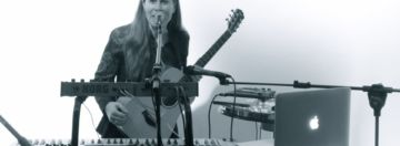 """Cielo Pordomingo music is an electronic fusion of Argentinian folk rhythms, classic sounds and synthesizers; after her first album """"D FRET"""", she is working on her next album and looking for concerts"""